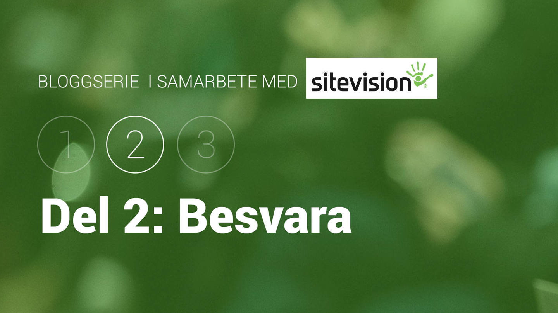 Bloggserie i samarbete med SiteVision. Del 2: besvara besökarnas frågor