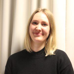 Emelie Frisk, språkkonsult