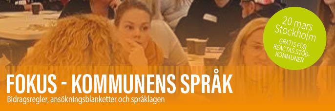 Fokus Kommunens språk