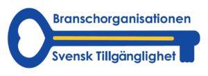 Loggan för branschorganisationen Svensk tillgänglighet.